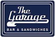 The Garage Bar and Sandwiches Mobile Retina Logo